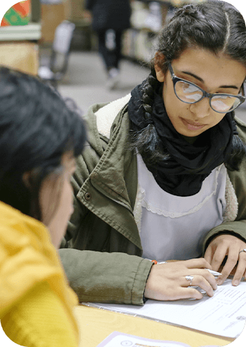 Estudiante paritcipante de Futuros Egresados